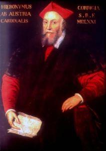 Il cardinale Girolamo da Correggio. La principale tenuta agricola che costituiva la fonte della ricchezza di questo signore rinascimentale, era quella di Casaloffia, nel reggiano, di 344 biolche con caseificio.