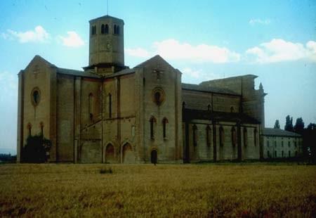 La Certosa Di San Martino Dei Bocci A Paradigna Di Parma. Questo monastero fu fondato dai cistercensi nel 1298.