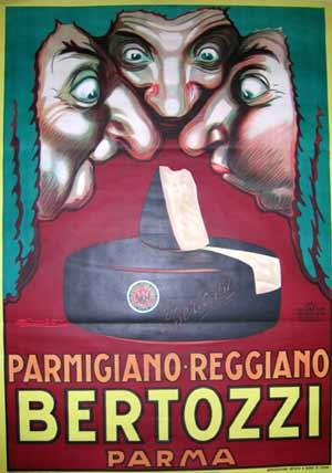 Manifesto di Mauzan per la ditta Bertozzi: 1930