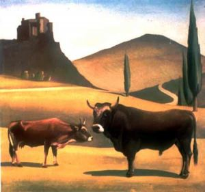 G.Venturini, bovini di razza montanara, sottorazza bardigiana.