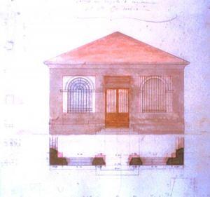 Progetto di caseificio del 1854 (Archivio di Stato di Parma)