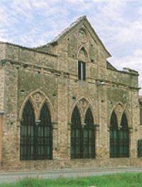 Caseificio della tenuta ducale di Montecoppe di Collecchio: Costruito agli inizi degli anni '50 e terminato nel 1858 in stile neogotico
