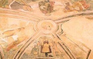 Passo di San Lucio – Cavargna (CO) – Oratorio di San Lucio - Volta campata I: Episodi della vita di San Lucio