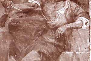 Puria - Valsolda (CO) – Diocesi di Milano - Chiesa dell'Assunta, dipinto murale (XVIII secolo, metà) Nella cappella di Sant'Antonio, San Lucio è rappresentato anche in un affresco, posto sulla parete destra. La scena, tuttavia, non propone la consueta iconografia statica del santo, bensì la scena dell'assassinio del Santo, colpito al petto da un pugnale brandito dal suo vecchio padrone, non distante dalla sua povera capanna, mentre gli angeli dal cielo recano palma e corona, simboli del martirio. L'opera è realizzata con toni vibranti e pennellate sciolte, presumibilmente verso la fine del XVI secolo. (P. Villa).