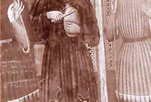 Giornico (Valle leventina) – Diocesi di Lugano - Chiesa di Santa Maria di Castello, Dipinto murale, Bottega dei Seregnesi (1448)