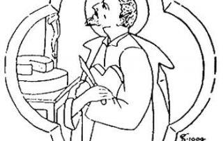 Isone (Val d'Isone) – Diocesi di Lugano - Chiesa Parrocchiale di San Lorenzo, Cappella dei Santi Antonio, Carlo Borromeo e Lucio, Dipinto murale (1901). Cancellato con i restauri