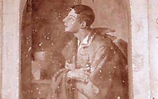 Lamone (Luganese) – Diocesi di Lugano - Contrada Artisti Lamonesi, Dipinto murale (1890 ca.)