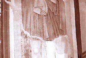 Maggia (Valle Maggia) – Diocesi di Lugano - Chiesa di Santa Maria di Campagna, Dipinto murale (1528 ca.)