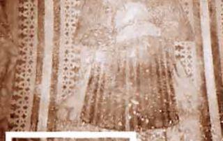 Semione (Valle di Blenio) – Diocesi di Lugano - Chiesa parrocchiale dell'Assunta, Dipinto murale (XV secolo, seconda metà) Affresco collocato nella Cappella dei Morti prospiciente al complesso architettonico principale. San Lucio è collocato sulla parete destra della camera sinistra del piccolo sacello. La figura del santo è posta entro una doppia cornice costituita da una lista verde interna e da un motivo a greche esterno, sigla ornamentale della bottega itinerante dei Seregnesi. San Lucio vi è rappresentato come un contadino imberbe vestito di una povera veste bruna dal panneggio rigido, formata da un saio con scollatura tonda e da un corto mantello scuro. Porta un copricapo di lana grezza, di foggia contadina, dal quale spuntano lunghi riccioli biondi; tra le mani giunte, quasi in segno di preghiera, Lucio stringe una piccola forma di cacio ed un coltello, di cui si scorge solo il manico di legno. (A. Madesani).
