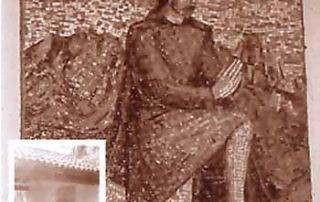 Sonvico (Luganese) – Diocesi di Lugano - Cappella viaria sull'antica strada per Sonvico, Mosaico, Aurelio Gonzato (1963)