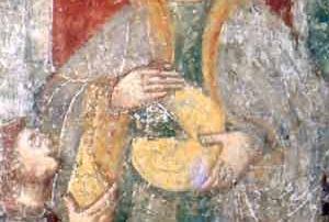Malnate (VA) - Diocesi di Milano - Chiesa di San Matteo, Dipinto murale, (1545 ca.)