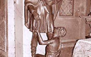 Gadesco – Pieve Delmona (CR) - Diocesi di Cremona - Parrocchiale di Pieve Delmona, Statua lignea, Leone Lodi (1947)