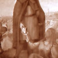 Gadesco – Pieve Delmona (CR) - Diocesi di Cremona - Pieve Delmona, Cappella di San Lucio presso la Cascina Guzzafame, Dipinto murale, Giovanni Misani (1947)