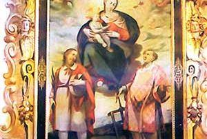 Pizzanco – Frazione Bognanco (Verbania) - Oratorio di San Luguzzone a Pizzanco, Dipinto su tela, Luigi Reali (XVII sec., prima metà) - Diocesi di Novara