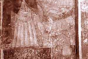 Domodossola (Verbania) - Chiesa di San Quirico di Calice, Dipinto murale (XV sec.) - Diocesi di Novara