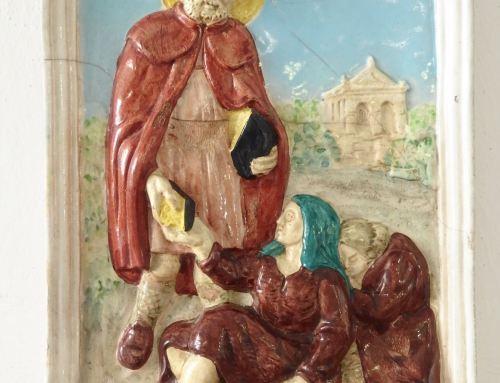 Formella devozionale di San Lucio