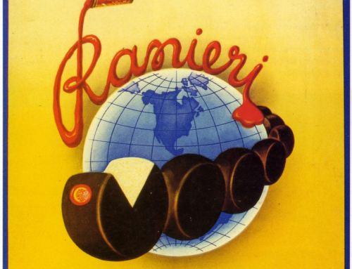 Locandina pubblicitaria ditta Luigi Ranieri Fiodenza