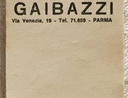 Blocchetti da salumiere ditta Fratelli Gaibazzi – Parma