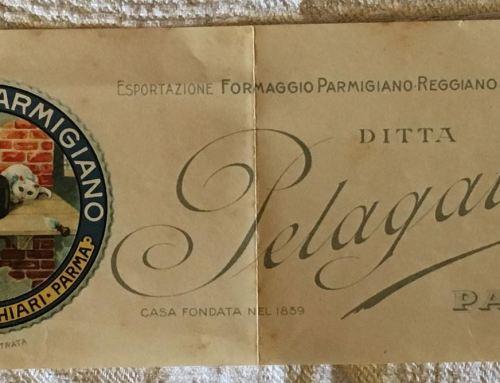Striscia pubblicitaria Ditta Pelagatti Parma